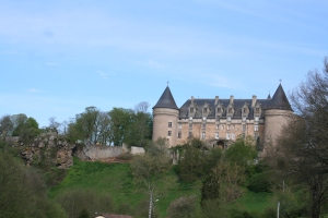 Rochechouart Chateau near our house